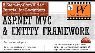 ASP.NET MVC Tutorial - Step by Step - PatrickVideos