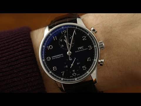 One of the Best Looking Chronographs on the Market: IWC Portugieser Chronograph