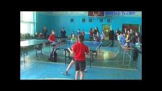 Финал турнира по настольному теннису памяти В.В. Здоровеца