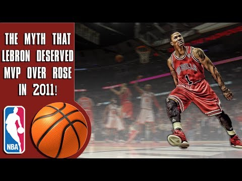 The myth that Lebron James deserved MVP over Derrick Rose in 2011