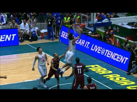 Gabe Norwood Rises for the PUTBACK Slam Against Qatar! (VIDEO)