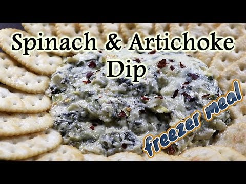 Spinach & Artichoke Dip (Easy Freezer Meals)