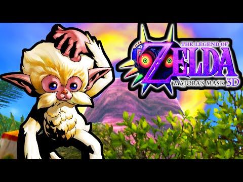 The Legend of Zelda Majora's Mask 3DS Gameplay Walkthrough Deku Palace Monkey Prison PART 5 Nintendo