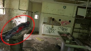 Exploring Haunted Abandoned MORGUE! (DEAD BODY!?) thumbnail