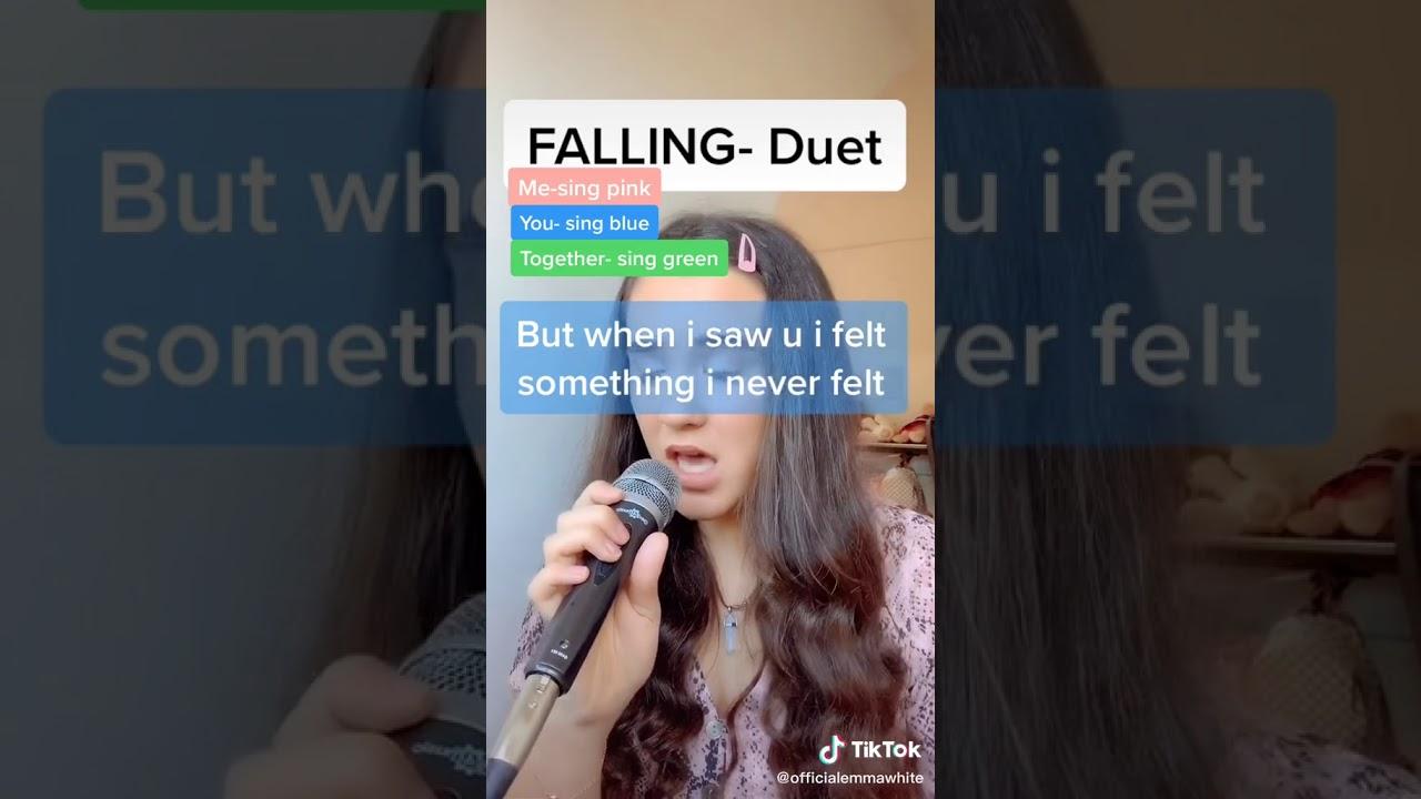 Falling Duet Singing Tiktok Youtube