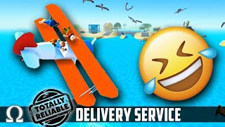 DUNKING MY FRIENDS LIKE OREOS! 😂 | T.R.D.S. (Totally Reliable Delivery Service) Funny Moments