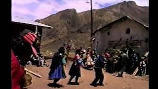 Fiesta navideña del anexo colcabamba chupamarca huancavelica parte 02