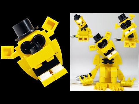 How to Build LEGO Golden Freddy | LEGO FNAF