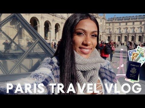 I MADE IT TO PARIS! PARIS TRAVEL VLOG DAY 1
