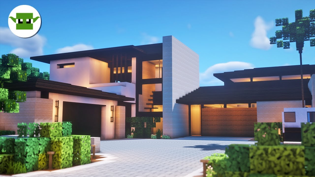 Best Modern House in Minecraft?  Inspiration Series /w Keralis
