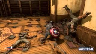 Captain America: Super Soldier [PS3] Walkthrough Part: 02