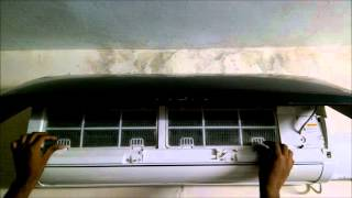 Cleaning Whirlpool 3D Cool Split AC Air Filters
