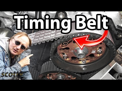How To Change A Timing Belt In Your Car