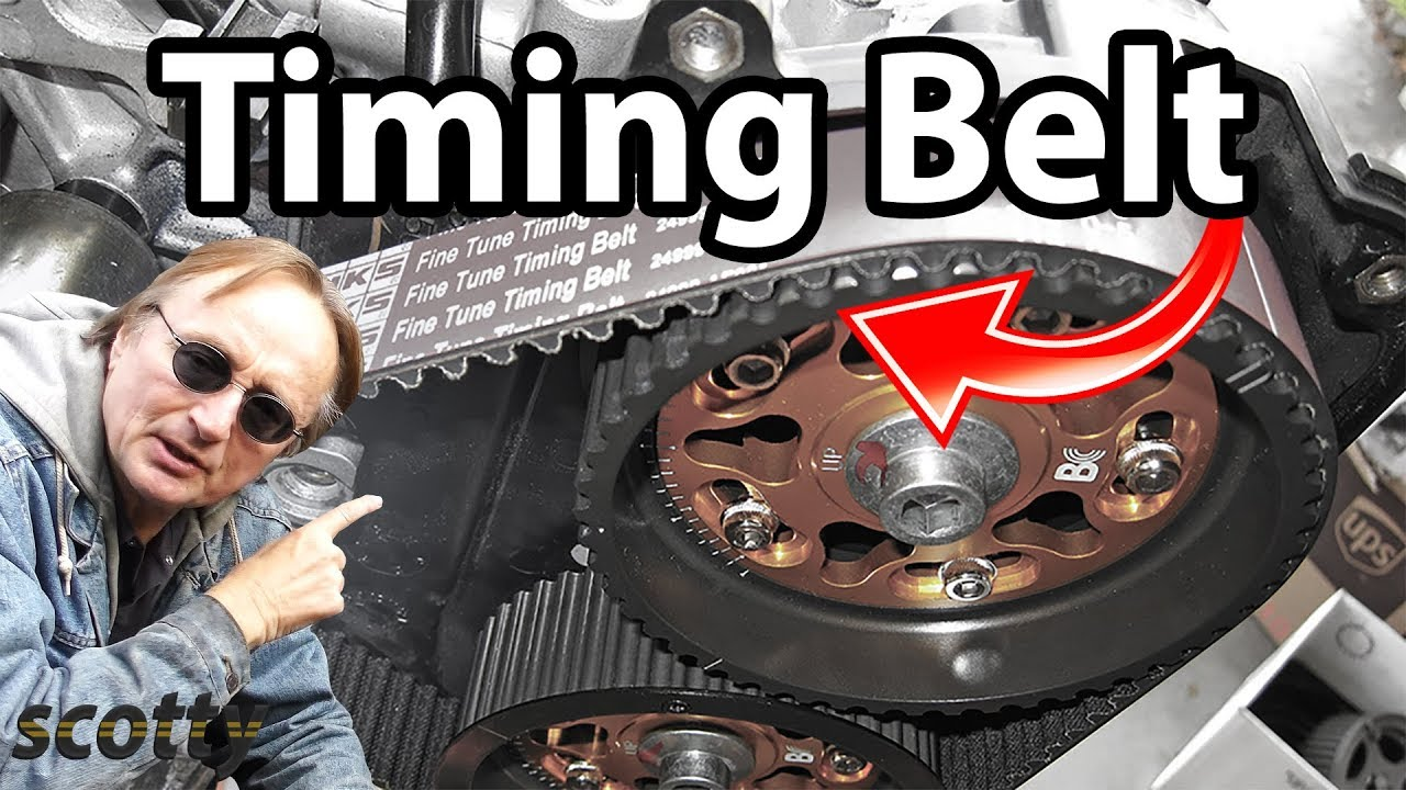 how to replace a timing belt in your car youtube. Black Bedroom Furniture Sets. Home Design Ideas