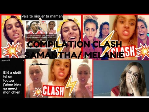 COMPILATION CLASH MELANIE DA CRUZ VS SAMANTHA (EX D'ANTONY MARTIAL)💥💥💥