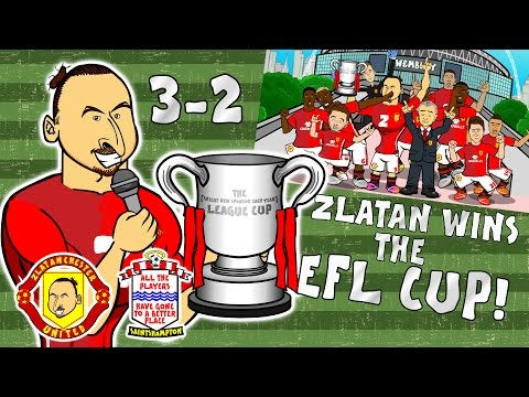 🏆ZLATAN WINS THE EFL CUP🏆 Man Utd 3-2 Southampton (Final Parody Goals and Highlights 2017)