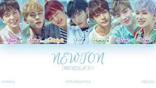 Han|rom|eng  Monsta X  몬스타엑스  - Newton  뉴튼   Color Coded Lyrics