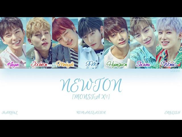 [HAN|ROM|ENG] MONSTA X (몬스타엑스) - NEWTON (뉴튼) (Color Coded Lyrics)