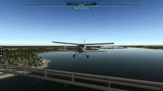 Скачать X Plane 10 Ан 2 Пролет под мостом