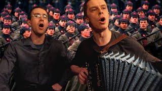Быть солдату начеку - Никита Шевелёв и Артём Иванюк под гармонь
