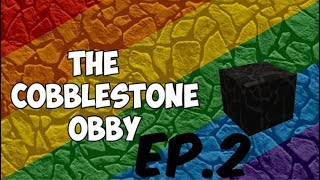 Roblox Cobblestone Obby Ep.2 (Breaking cars)