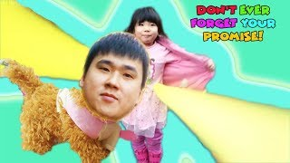 The Kongsuni Magic Dress!|콩순이 마법 옷|Funny Video for Kids