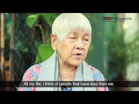TEDxSingapore - 113 year old Teresa Hsu - Wisdom for all ages