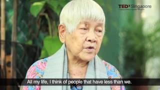 TEDxSingapore - 113 year old Teresa Hsu - Wisdom for all ages