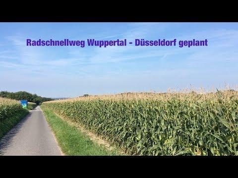 Radschnellweg Wuppertal - Düsseldorf geplant