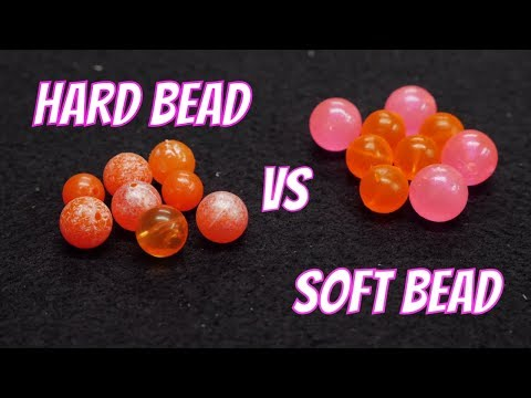Hard Bead Vs Soft Bead   The GREAT BEAD FISHING Debate!