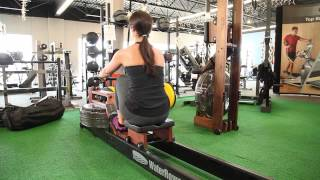 WaterRower Club Rower Demo at G&G Fitness Equipment