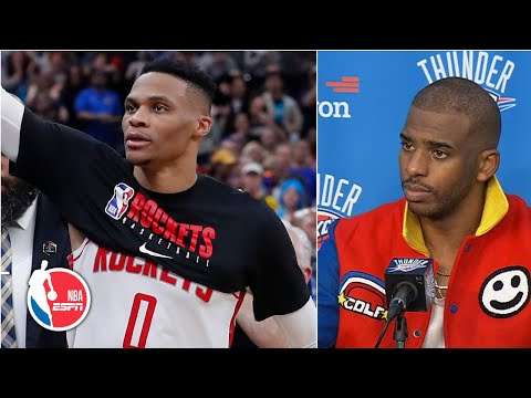 chris-paul-reacts-to-russell-westbrook-s-return-and-his-nutmeg-of-isaiah-hartenstein- -nba-sound