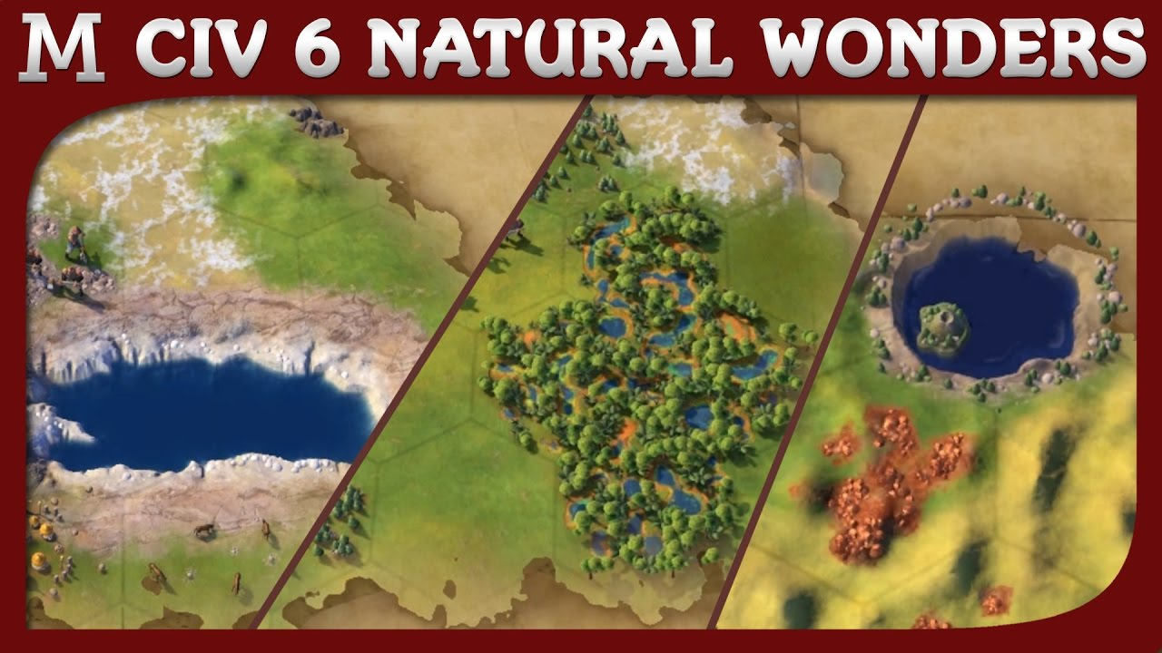 Civilization 6 - All Natural Wonders with Sean Bean Narration