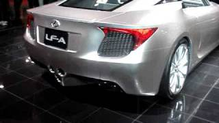 Lexus LF-A Concept (2007) Videos