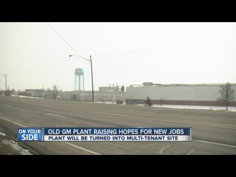 Old GM plant raises hopes for new jobs