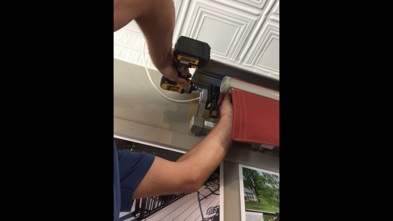 Removing Somfy Motor From Sunair Awning