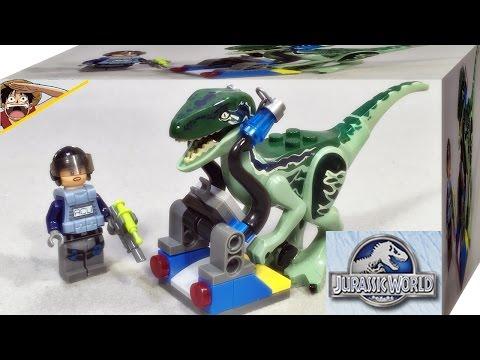 lele 쥬라기월드 랩터 블루와 acu 트루퍼 레고 짝퉁 미니피규어 조립 리뷰 Lego knockoff Jurassic World Dino