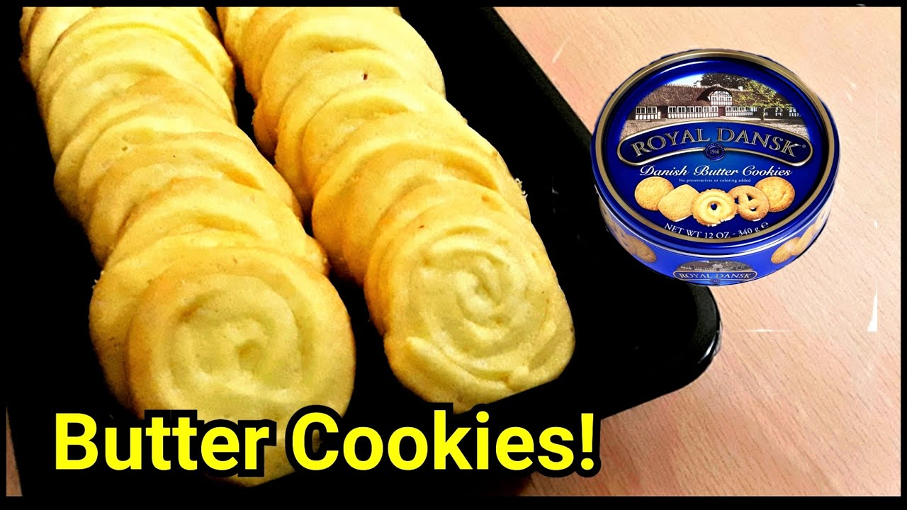 Butter Cookies   Easy Homemade