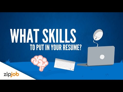 Resume skills you need to include to land that interview