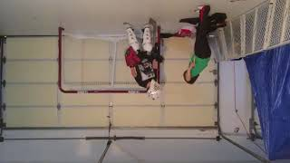 Hockey 2 - playing on the ceiling
