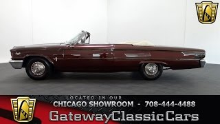 1963 Ford Galaxie Convertible Gateway Classic Cars Chicago #1069