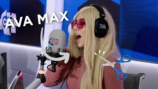 Ava Max Explains The Story Behind Her Max-Cut Hairstyle ✂️ | FULL INTERVIEW