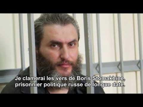Liberté pour Boris Stomakhine.