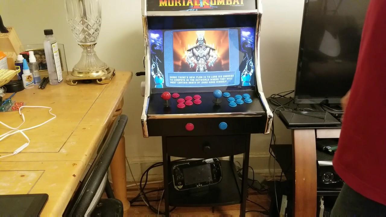 Steam link bartop arcade complete - YouTube