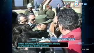 Archivos históricos - Conferencia de prensa de Nicolaides (1983)