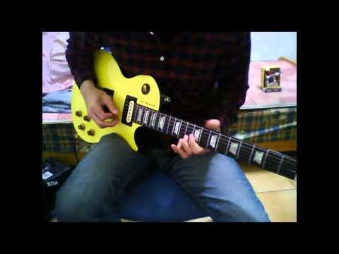 DJ Ashba Mi Amor - Guitar cover