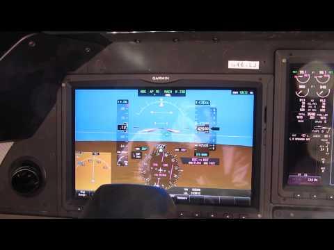 Learjet 75 demonstration flight. Part one.