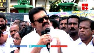 Suresh Gopi For Vizhinjam Port Trust Project