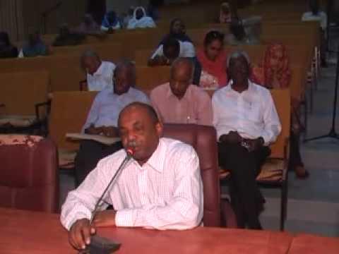 Professorial Presentation Prof Shakir 2,University of Khartoum