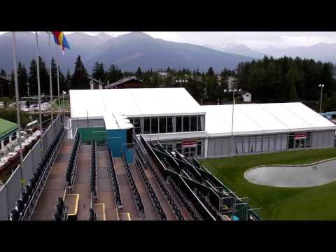 Rental solutions for high-end golf event in Crans-Montana Switzerland
